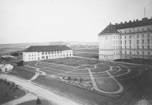 Botanická zahrada, 20. léta